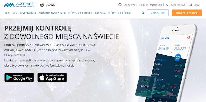 Aplikacja MaxiTrade informacje