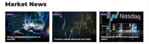 Axiory Market analysis